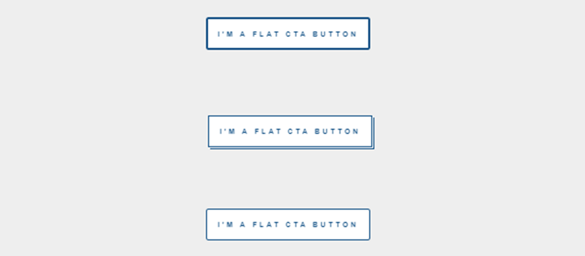 css flat buttons