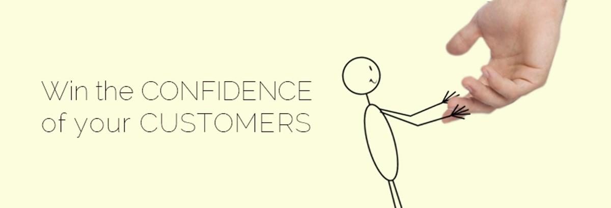 Help salesman to win customers' confidence