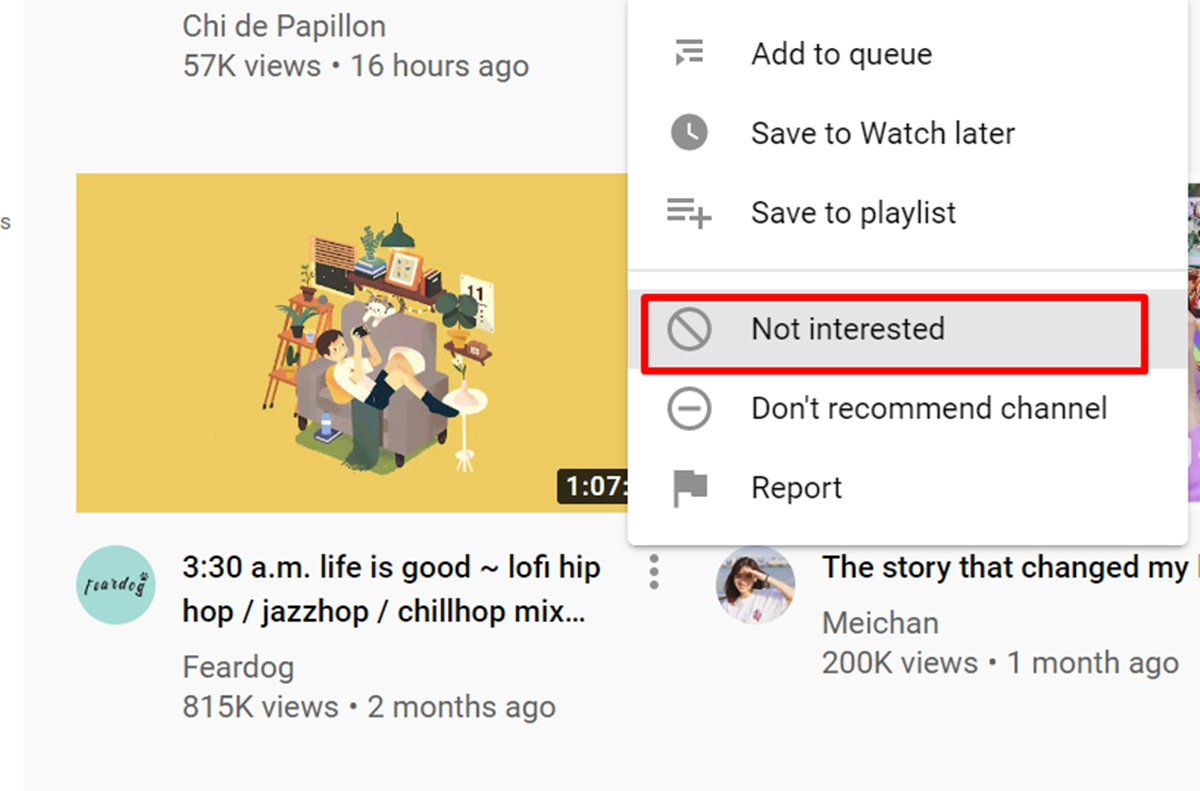 Control your Youtube feed?