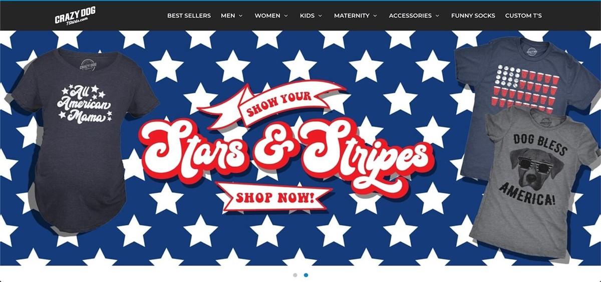 print-on-demand T-shirt stores
