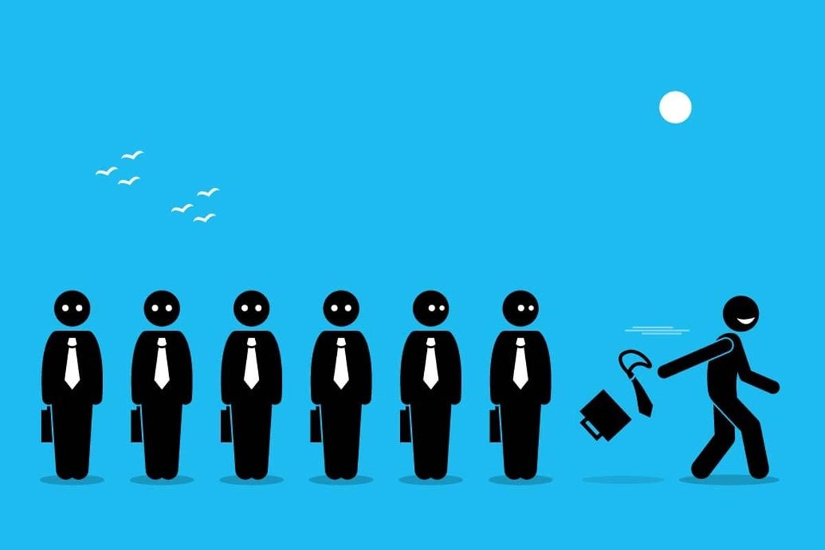 High job turnover for salesman