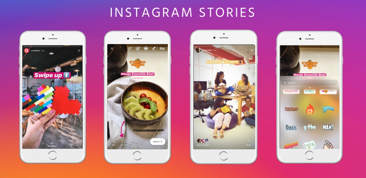 Use Instagram stories