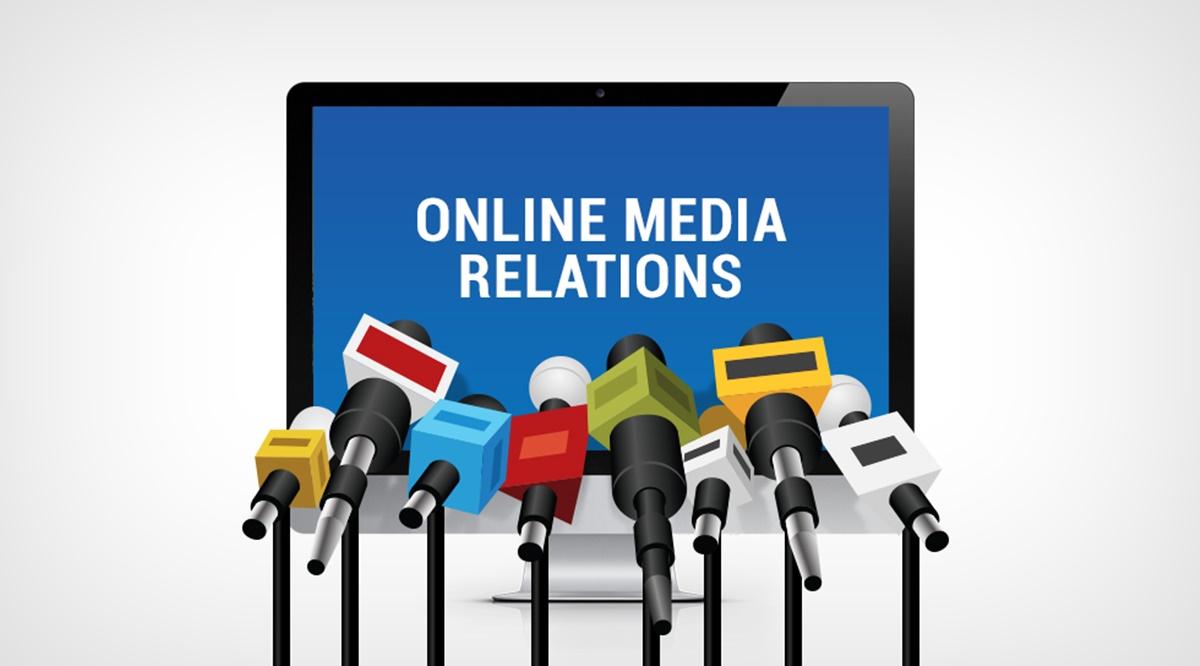 Online public relations advertising