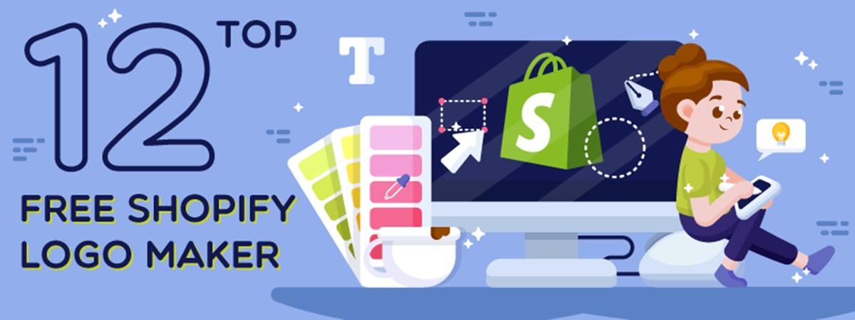 Top 12+ Free Shopify Logo Maker: Create & Design a Logo Online