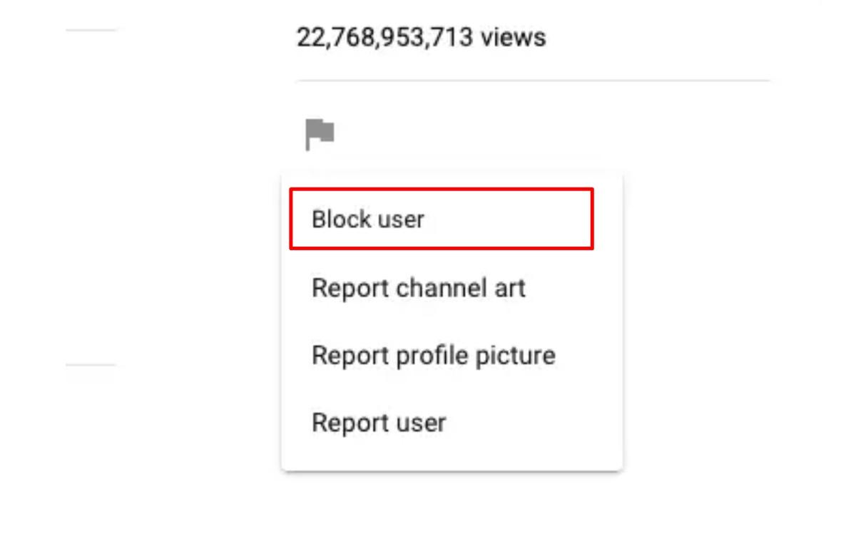 Block Youtube channels on Desktop