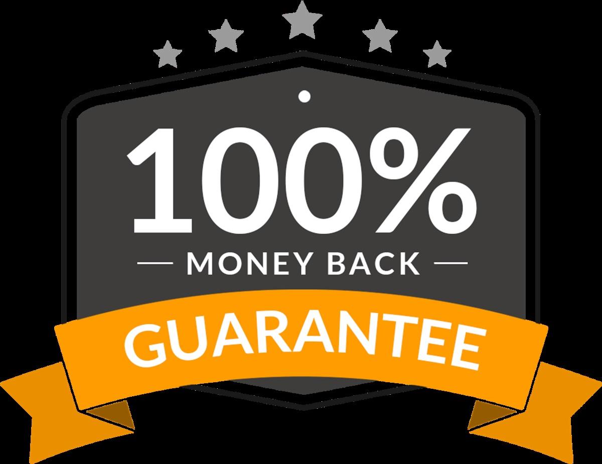 Money back guarantee badge