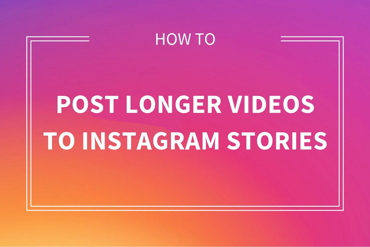 How to upload a 2-minute video on Instagram?