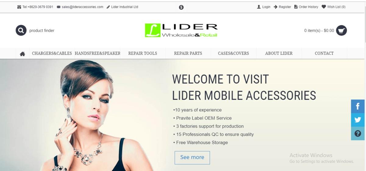 Lider Mobile Accessories
