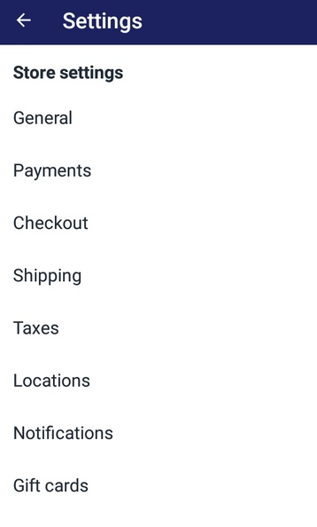 set the tax rate for a new POS location