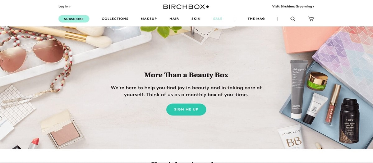Your business idea can be Cosmetics subscription boxes