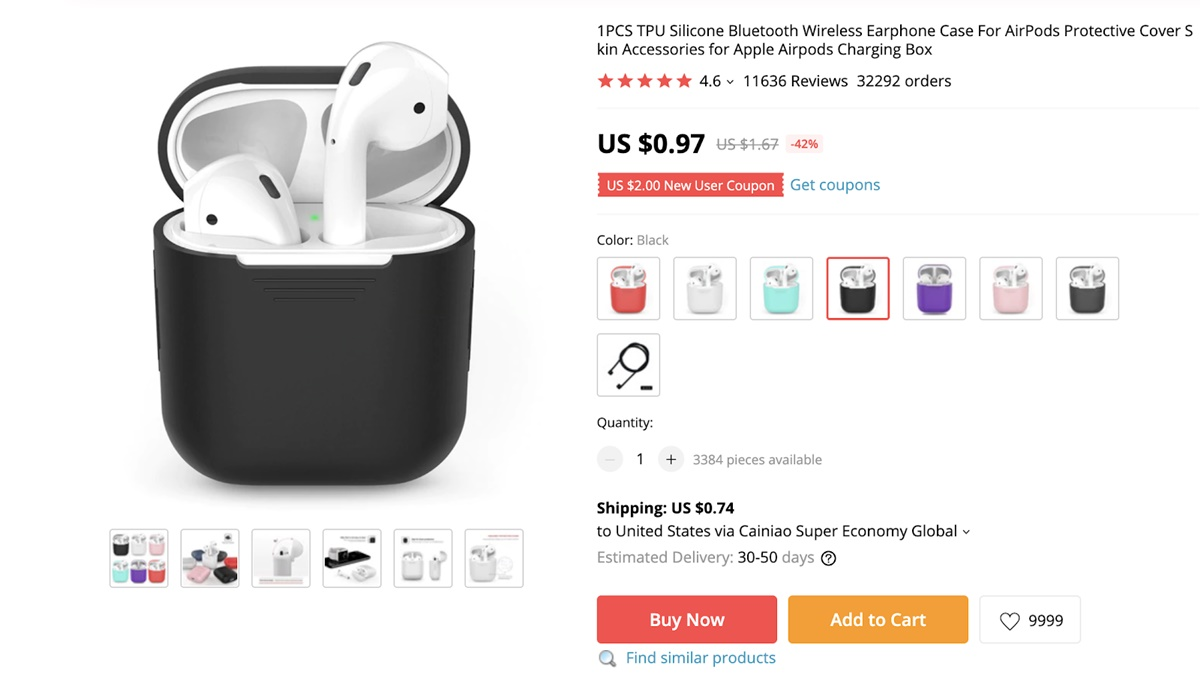 AliExpress dropshipping tips: choose low price products