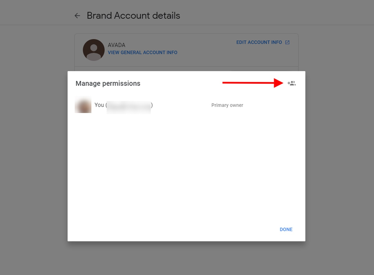 Adding account roles