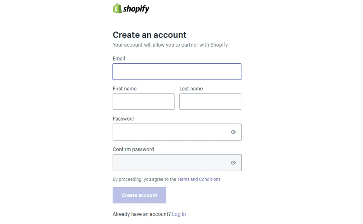 The difference between Shopify partner login and Shopify login - Shopify Partner