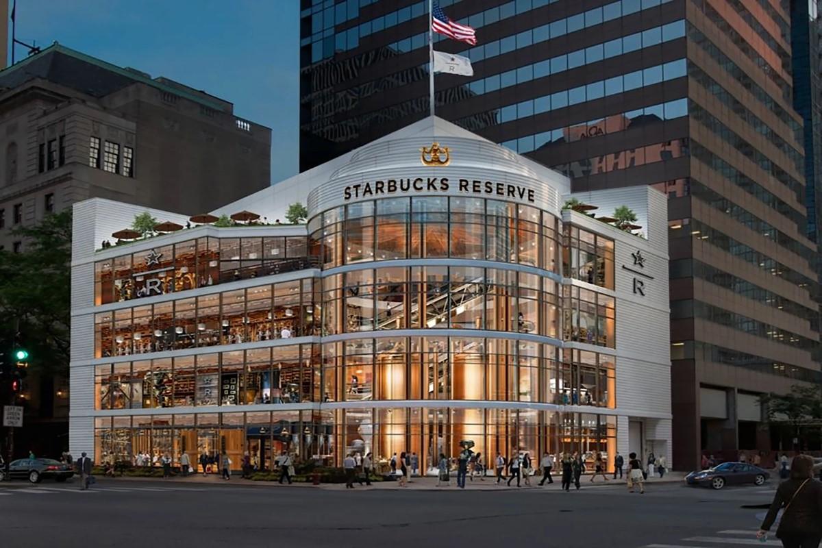 Starbucks Store in Chicago