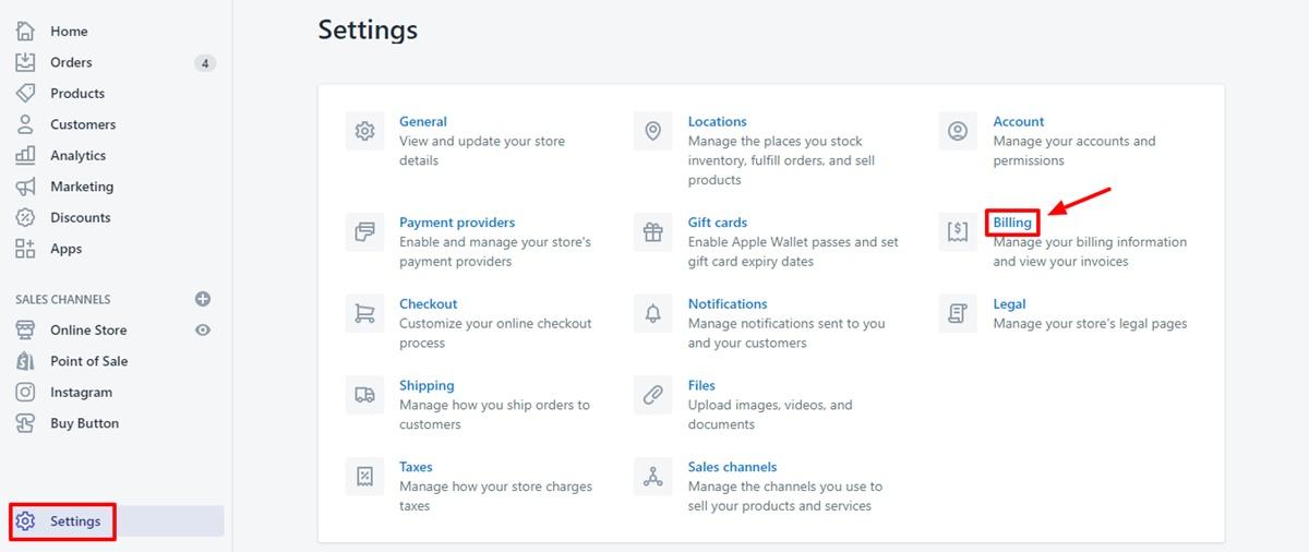 Change your credit card details 1