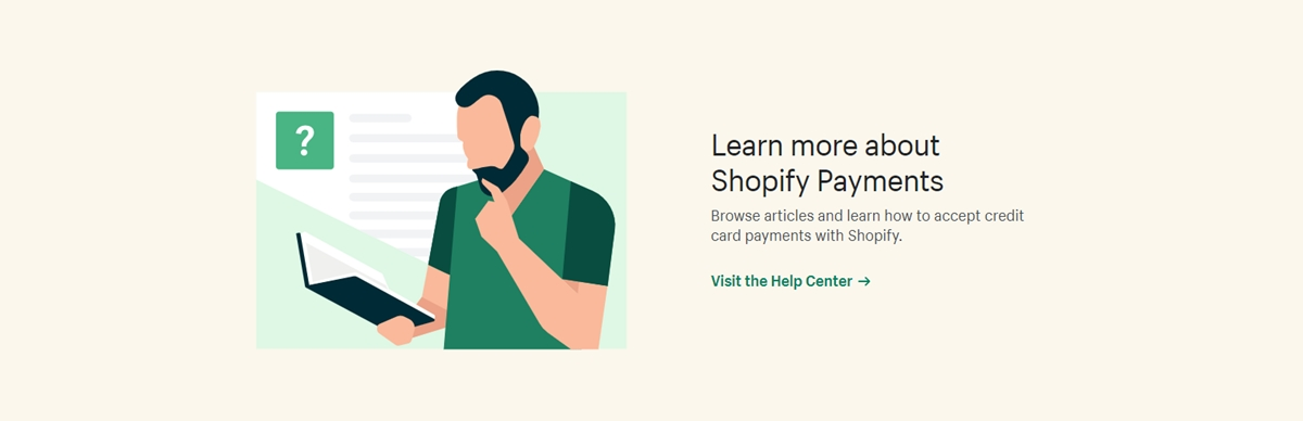 What types of businesses and services are Supported on Shopify?