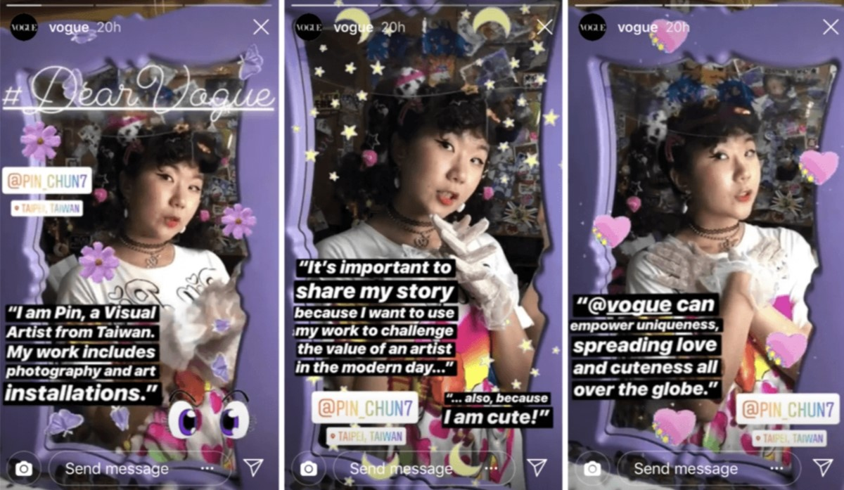 Tell Your Followers' Stories - Brand Vogue