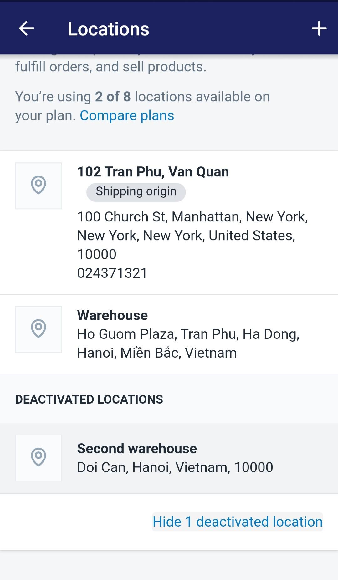Delete locations4