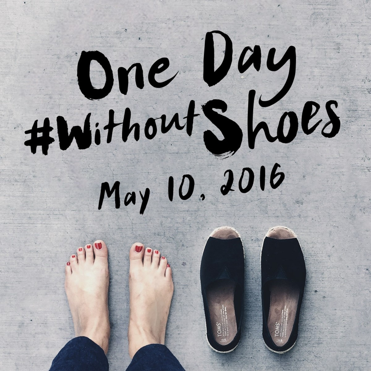 Toms marketing campaign: One day without shoes