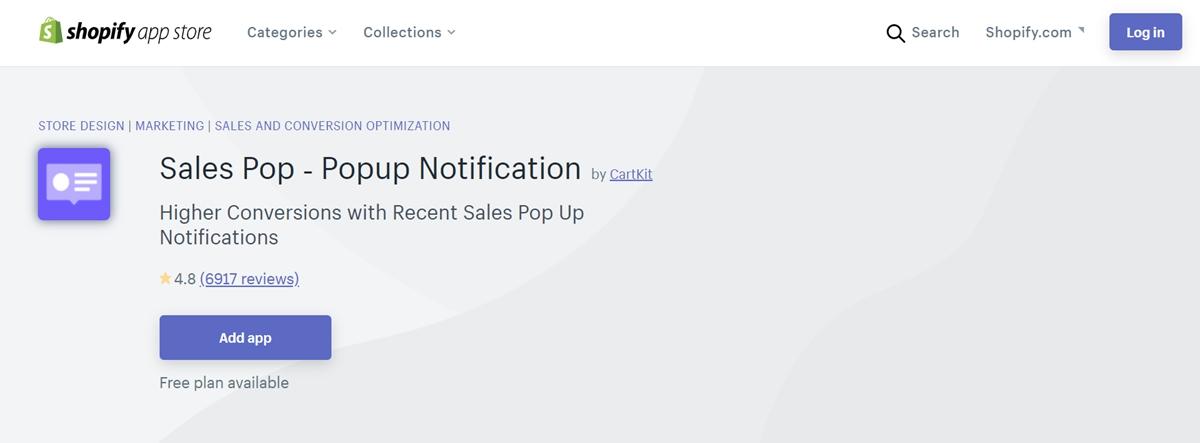 Sales Pop