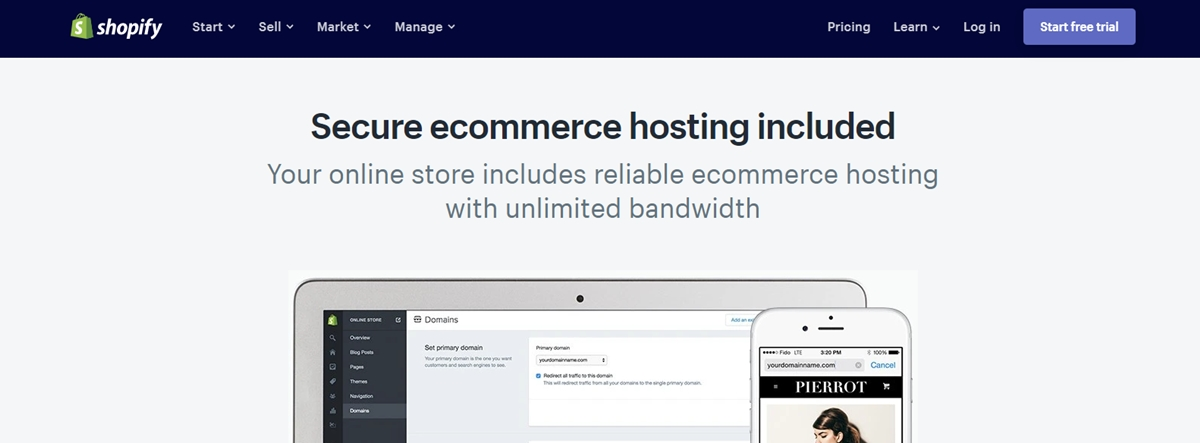What is Shopify Hosting