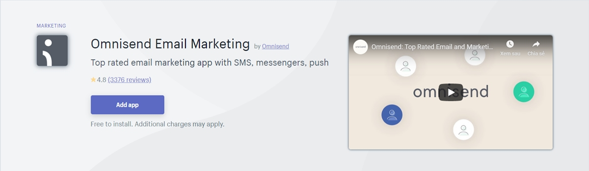 Best Shopify apps: Omnisend - Email Marketing