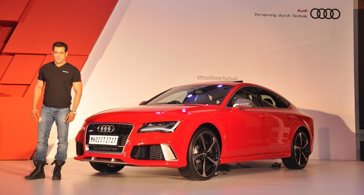 Audi R8 launch with Salman Khan in India