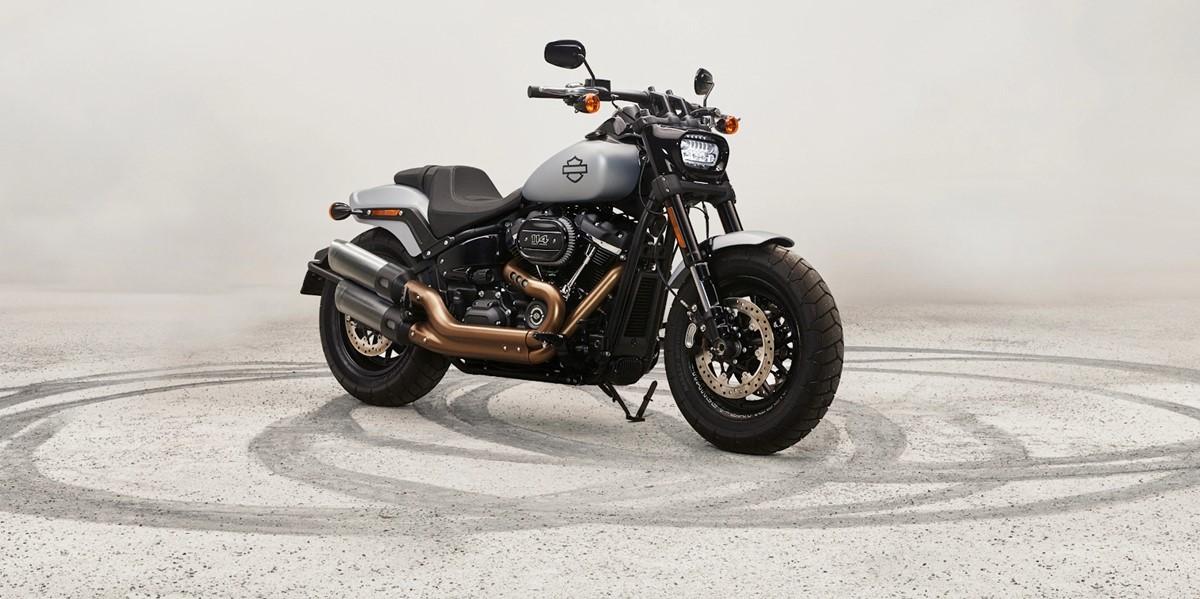 Harley Davidson's motorbike