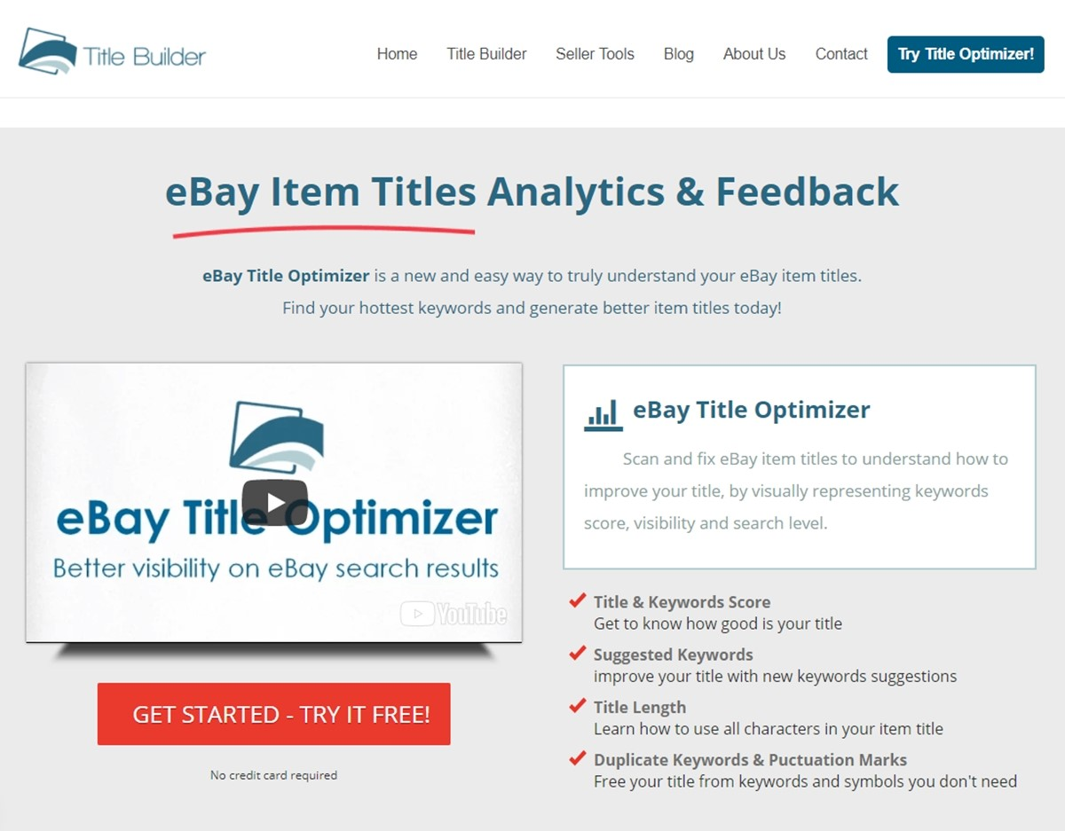 eBay Title Optimizer