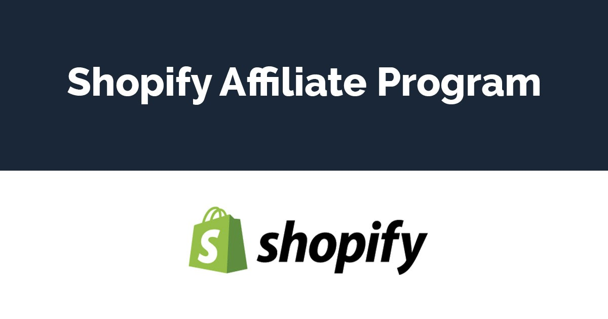 Overview of the Shopify affiliate program