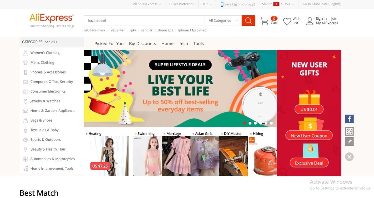 Aliexpress China Wholesale Websites