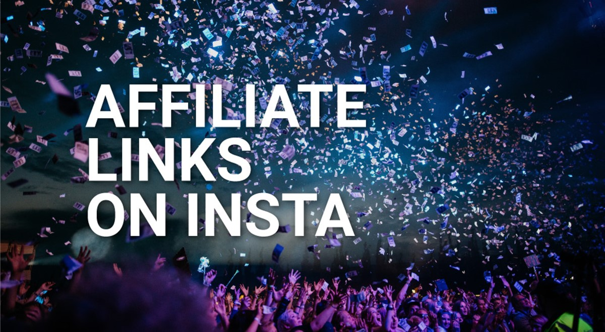 Where to place affiliate links on Instagram?