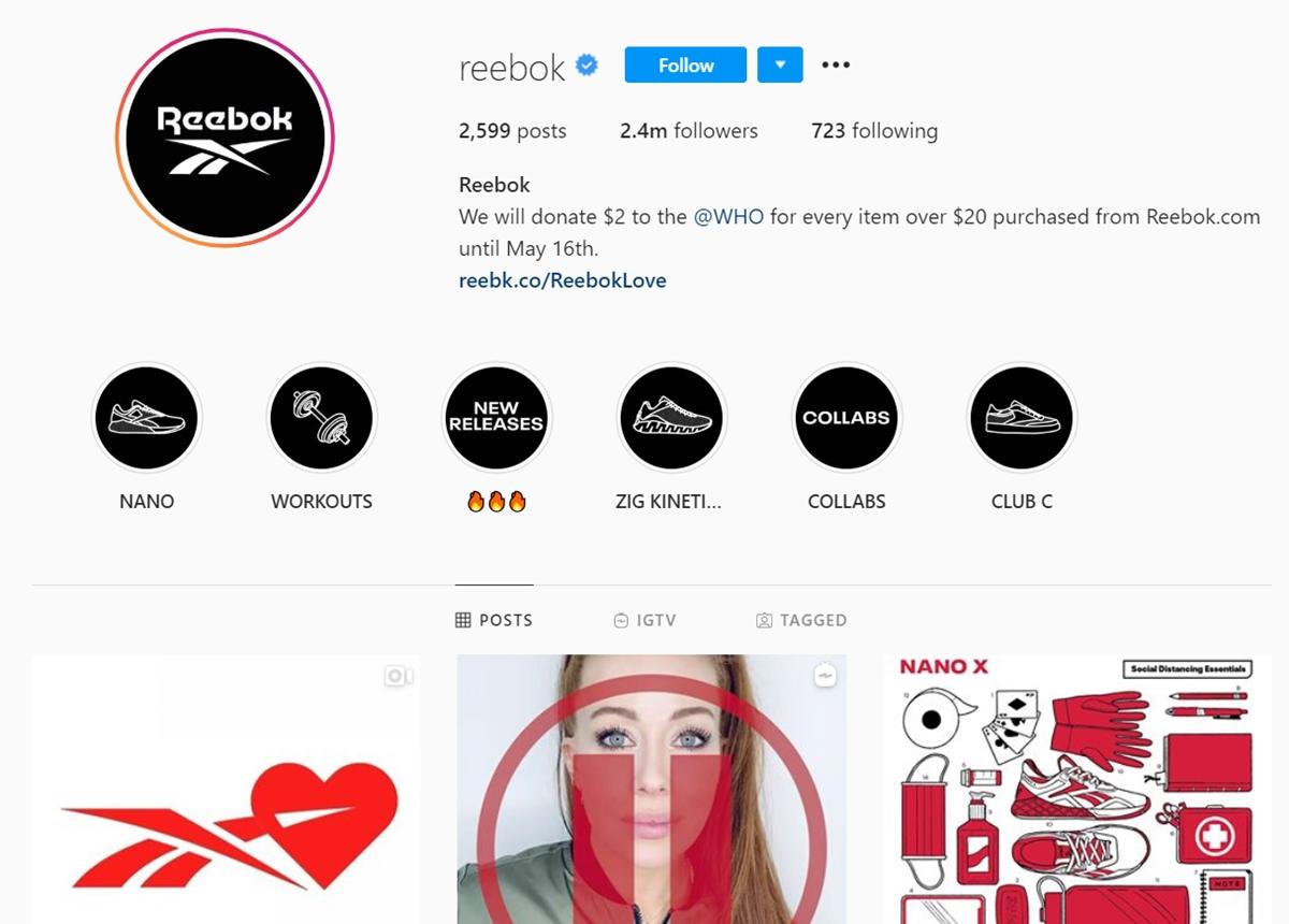 Reebok Be More Human Campaign