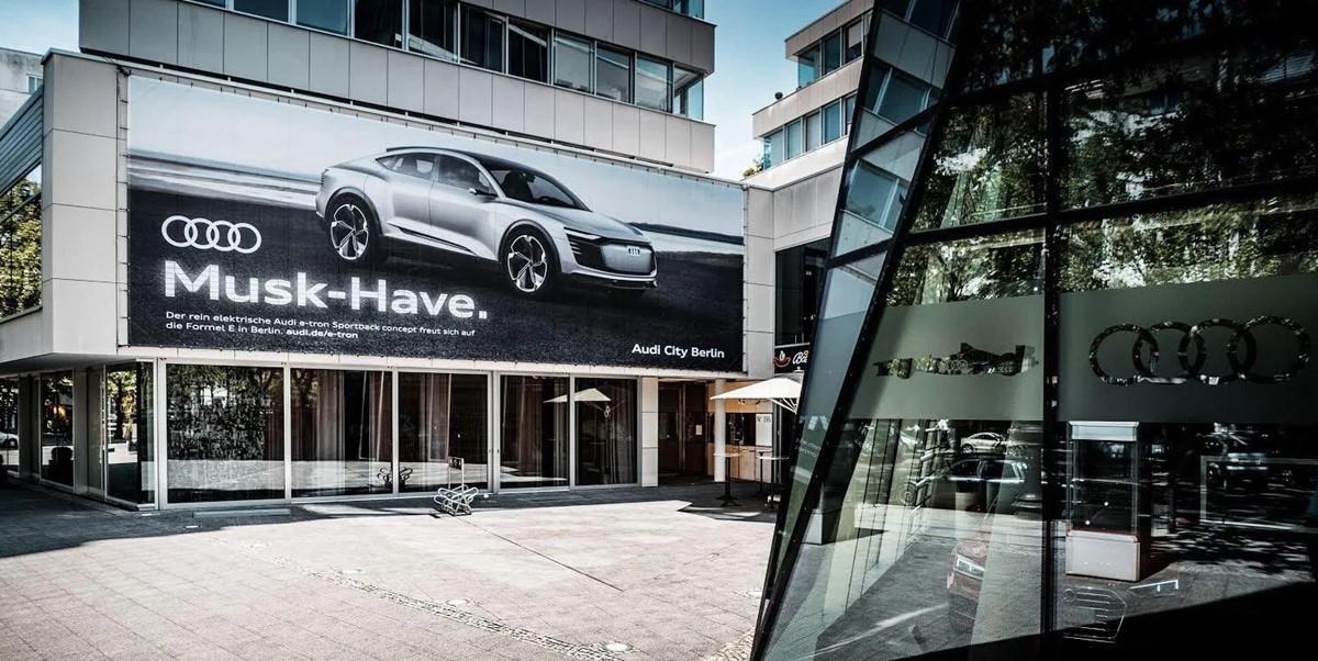 Audi musk-have billboard