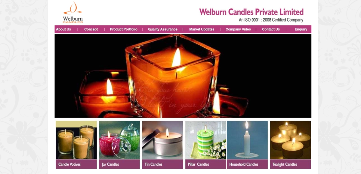 Welburn Candles Private Limited