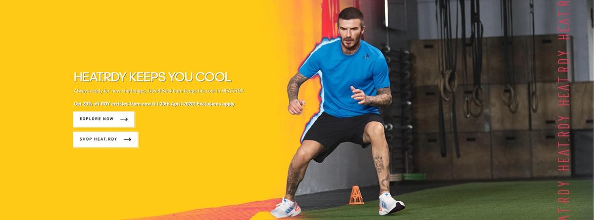 Adidas and David Beckham