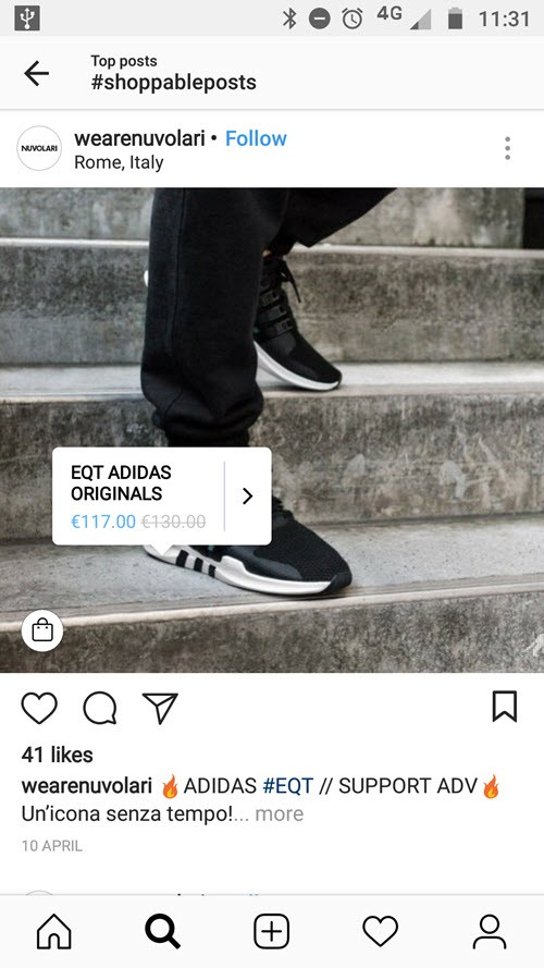 add shoppable tags