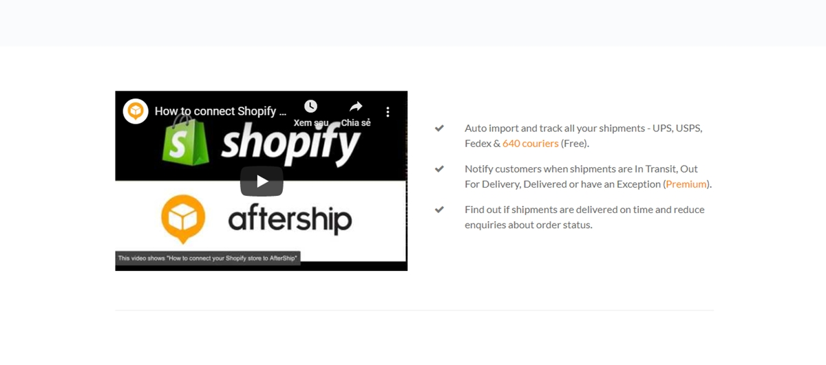 How to use Aftership?