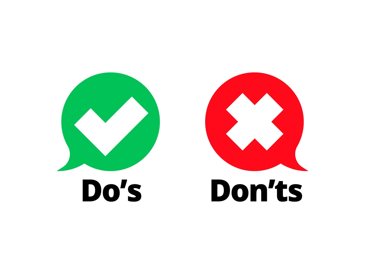 Do's and Don'ts in digital marketing