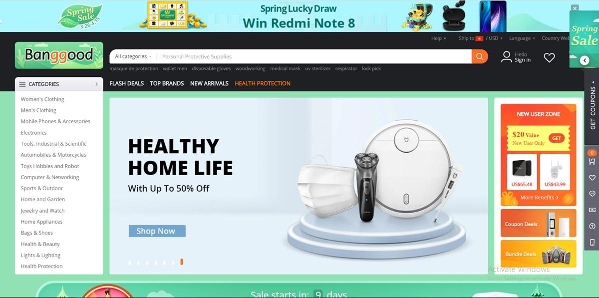Bangood China Wholesale Websites