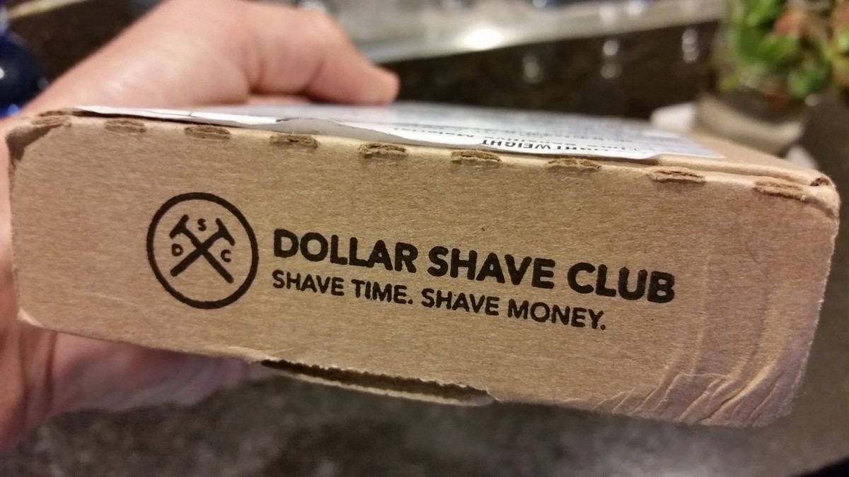 "Dollar Shave Club's ""Shave Time. Shave Money."""