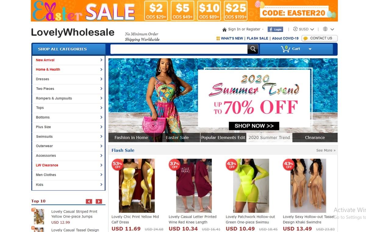 LovelyWholesale China Wholesale Websites