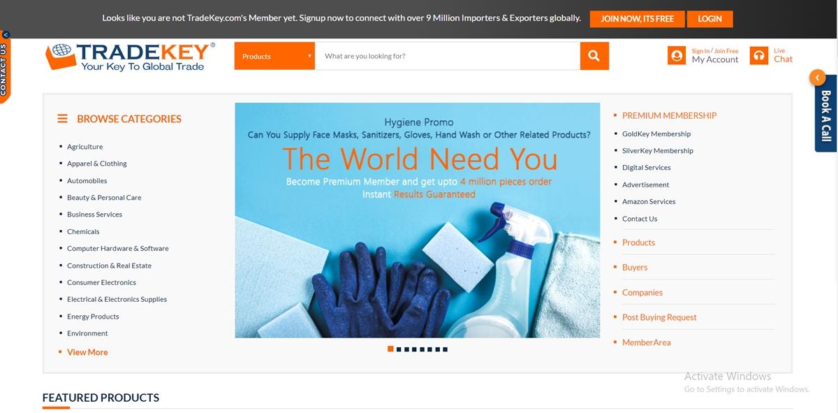 TradeKey China Wholesale Websites
