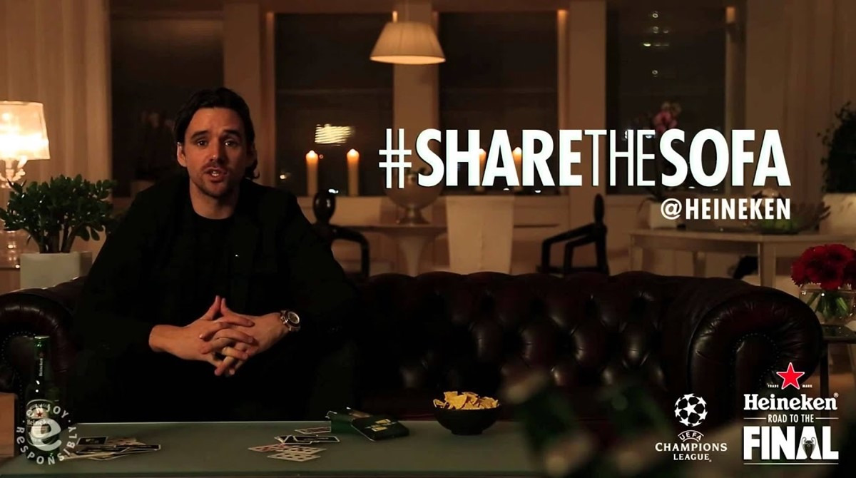 Share the sofa campaign