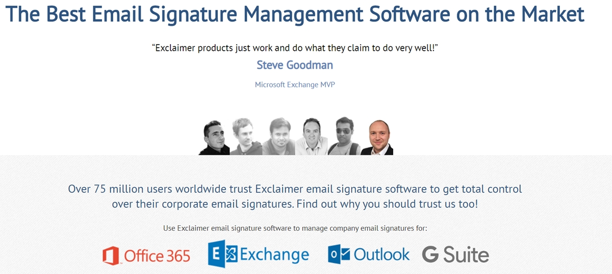Email Signature Generator Tool By Exclaimer