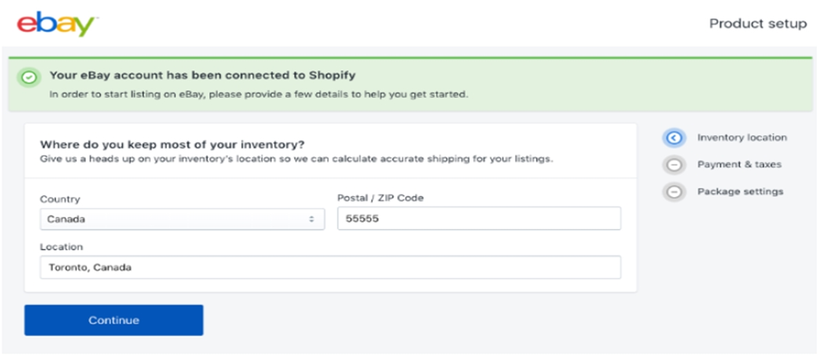 how sell ebay using shopify