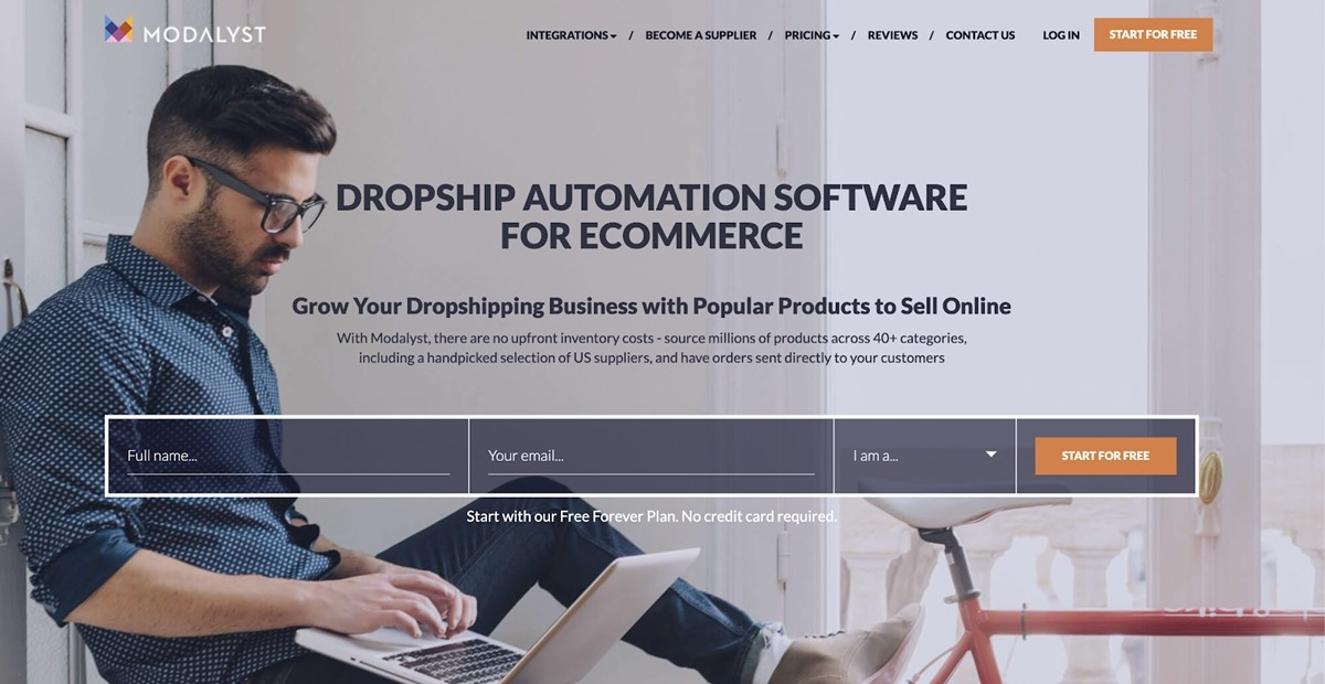 Best Shopify dropshipping apps - Modalyst
