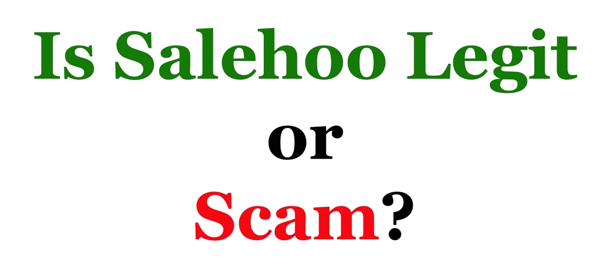Salehoo legit or a scam
