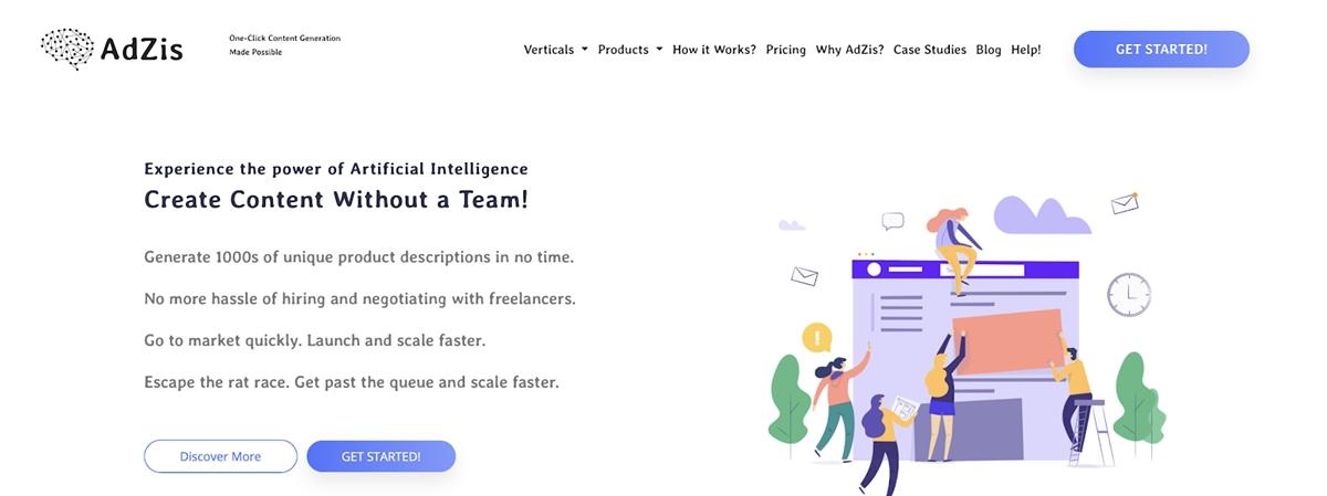 AdZis - Product description generator