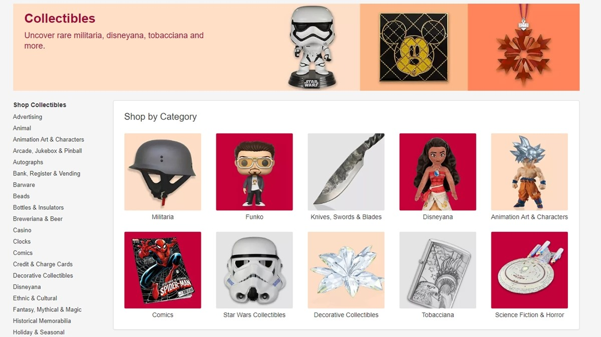 Collectibles on eBay
